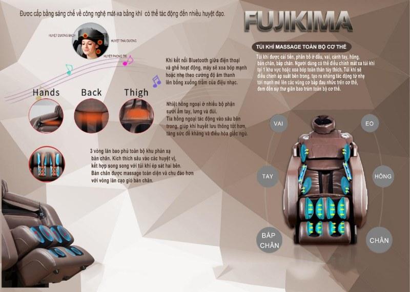 ghế massage Fujikima