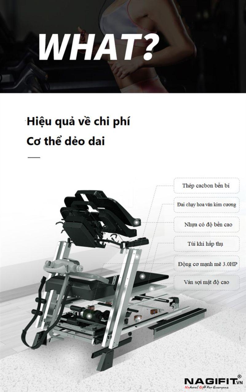 Máy chạy bộ SHUA