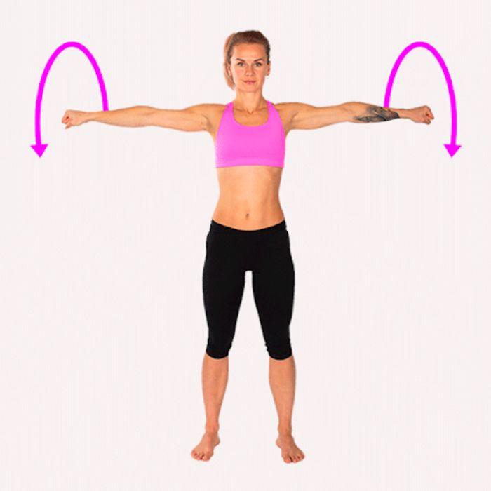 Tập luyện phương pháp giảm mỡ vòng 1